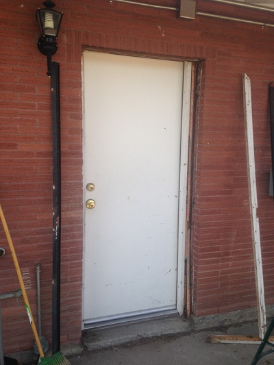 Office Building Security Door And Remodel